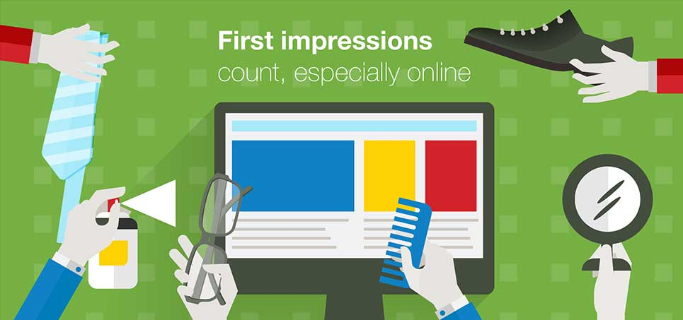 Is Your Website Making a Good First Impression?