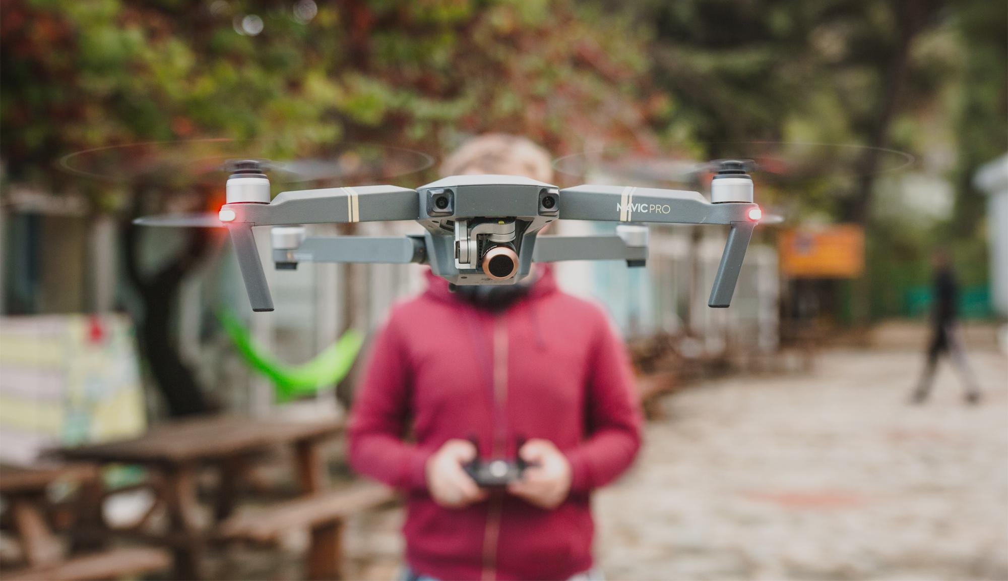 Drone flying Arkenets Web Project