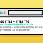 Technical seo - title and description tags